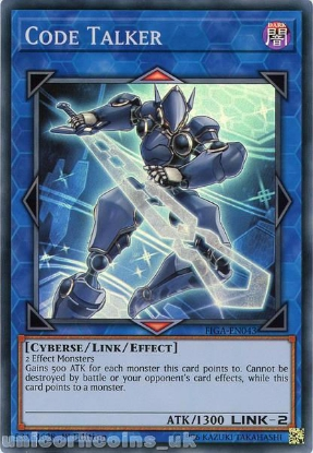 Picture of FIGA-EN043 Code Talker Super Rare 1st Edition Mint YuGiOh Card