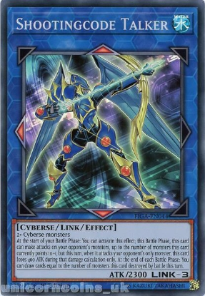 Picture of FIGA-EN044 Shootingcode Talker Super Rare 1st Edition Mint YuGiOh Card