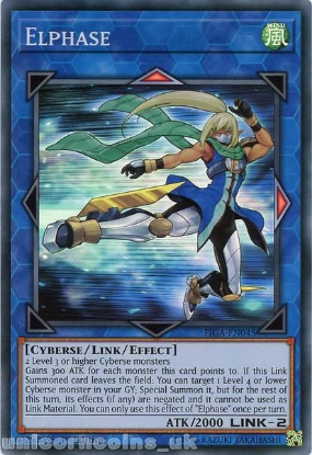 Picture of FIGA-EN045 Elphase Super Rare 1st Edition Mint YuGiOh Card