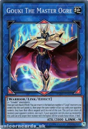 Picture of FLOD-EN041 Gouki The Master Ogre Super Rare UNL Edition Mint YuGiOh Card