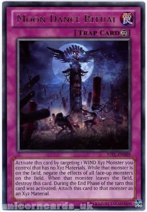 Picture of JOTL-EN089 Moon Dance Ritual Rare UNL Edition Mint YuGiOh Card