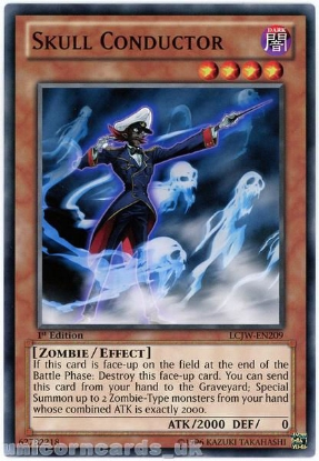 Picture of LCJW-EN209 Skull Conductor 1st Edition Mint YuGiOh Card