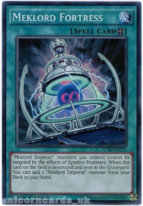 Picture of LC5D-EN173 Meklord Fortress Super Rare 1st Edition Mint YuGiOh Card