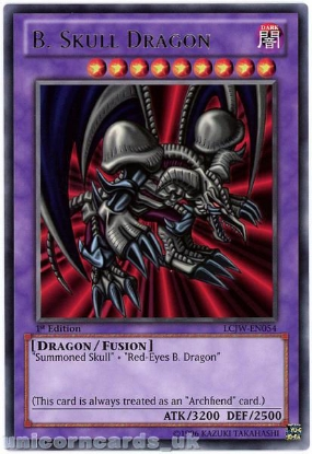 Picture of LCJW-EN054 B. Skull Dragon Rare 1st edition Mint YuGiOh Card
