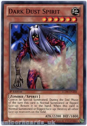 Picture of LCJW-EN188 Dark Dust Spirit 1st Edition Mint YuGiOh Card