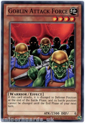 Picture of LCJW-EN028 Goblin Attack Force 1st Edition Mint YuGiOh Card