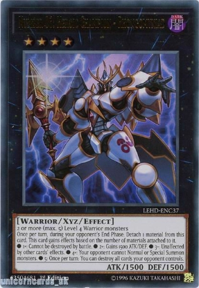 Picture of LEHD-ENC37 Number 86: Heroic Champion - Rhongomyniad Ultra Rare 1st Edition Mint YuGiOh Card