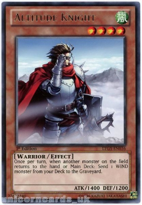 Picture of LTGY-EN036 Altitude Knight Rare 1st Edition Mint YuGiOh Card