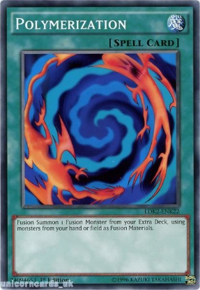Picture of LDK2-ENK22 Polymerization 1st edition Mint YuGiOh Card
