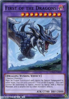 Picture of LDK2-ENK41 First of the Dragons 1st edition Mint YuGiOh Card