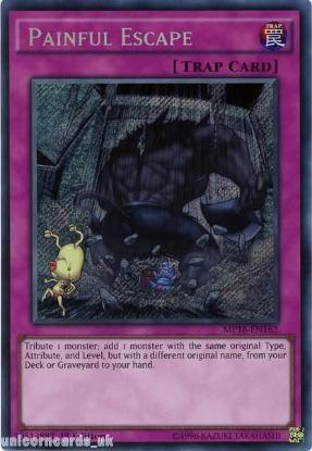 Picture of MP16-EN162 Painful Escape Secret Rare 1st Edition Mint YuGiOh Card