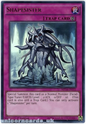 Picture of MP14-EN111 Shapesister Ultra Rare 1st Edition Mint YuGiOh Card