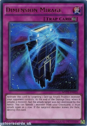 Picture of MVP1-EN025 Dimension Mirage Ultra Rare 1st edition Mint YuGiOh Card