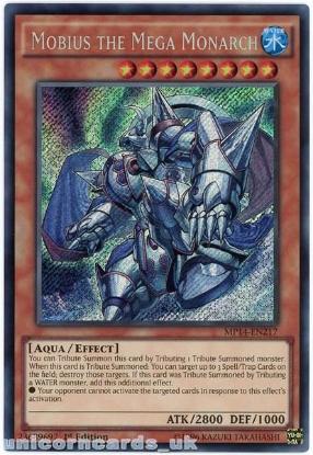 Picture of MP14-EN217 Mobius the Mega Monarch Secret Rare 1st Edition Mint YuGiOh Card