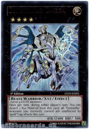 Picture of LTGY-EN091 Constellar Omega Ultra Rare 1st Edition Mint YuGiOh Card
