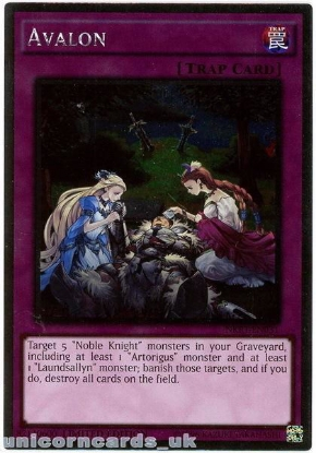 Picture of NKRT-EN031 Avalon Platinum Rare Limted Edition Mint YuGiOh Card