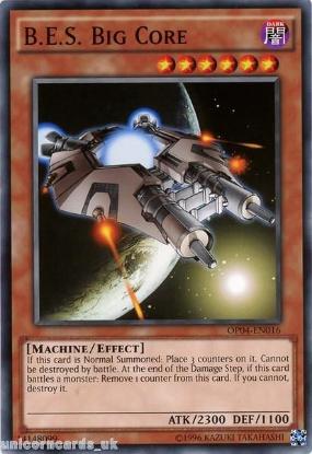 Picture of OP04-EN016 B.E.S. Big Core Mint YuGiOh Card