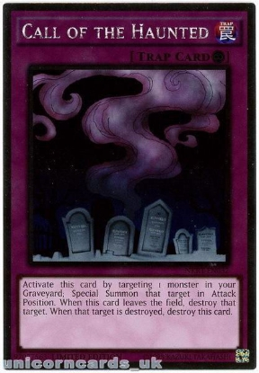 Picture of NKRT-EN032 Call of the Haunted Platinum Rare Limted Edition Mint YuGiOh Card