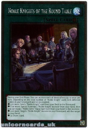 Picture of NKRT-EN018 Noble Knights of the Round Table Platinum Rare Mint YuGiOh Card