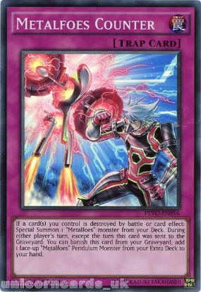 Picture of PEVO-EN056 Metalfoes Counter Super Rare 1st Edition Mint YuGiOh Card