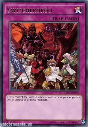 Picture of RATE-EN079 Switcheroroo Rare UNL Edition Mint YuGiOh Card