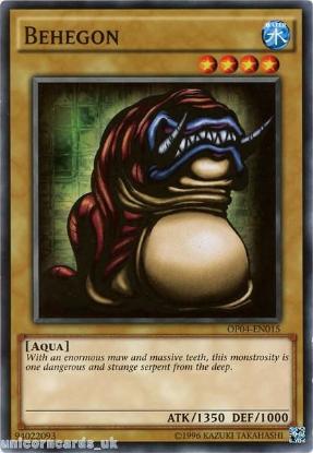 Picture of OP04-EN015 Behegon Mint YuGiOh Card