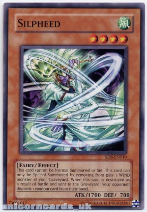Picture of SD8-EN010 Silpheed 1st Edition Mint YuGiOh Card
