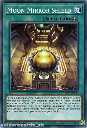 Picture of SDCL-EN030 Moon Mirror Shield 1st Edition Mint YuGiOh Card