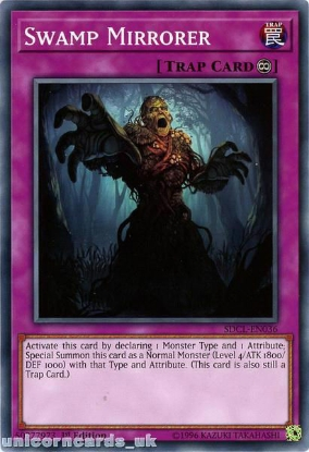 Picture of SDCL-EN036 Swamp Mirrorer 1st Edition Mint YuGiOh Card