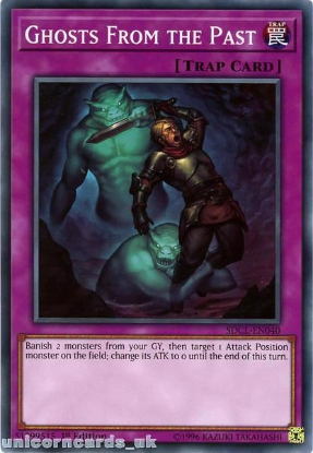 Picture of SDCL-EN040 Ghosts From the Past 1st Edition Mint YuGiOh Card