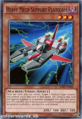 Picture of SDKS-EN008 Heavy Mech Support Platform 1st edition Mint YuGiOh Card