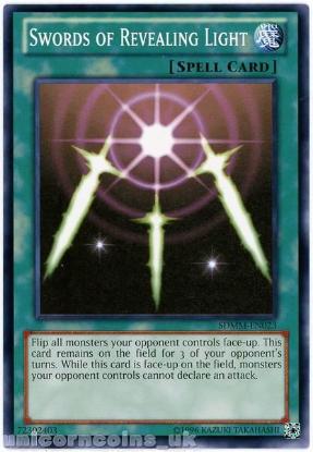 Picture of SDMM-EN023 Swords of Revealing Light UNL Edition Mint YuGiOh Card