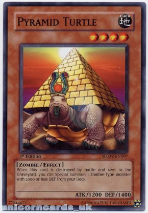 Picture of SDZW-EN007 Pyramid Turtle 1st Edition Mint YuGiOh Card