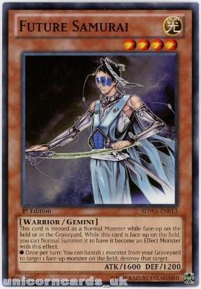 Picture of SDWA-EN013 Future Samurai 1st Edition Mint YuGiOh Card