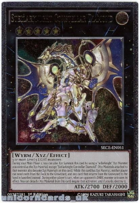 Picture of SECE-EN051 Stellarknight Constellar Diamond Ultimate Rare 1st Edition Mint Card