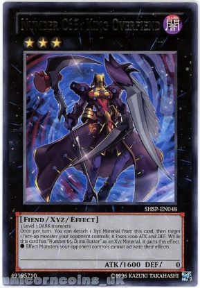 Picture of SHSP-EN048 Number C65: King Overfiend Rare UNL Edition Mint YuGiOh Card