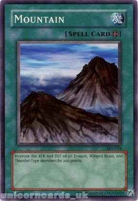Picture of SKE-034 Mountain Common UNL Edition Vintage Mint YuGiOh Card