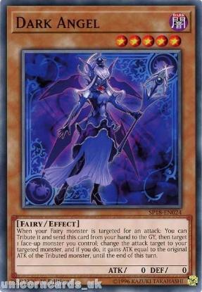 Picture of SP18-EN024 Dark Angel 1st Edition Mint YuGiOh Card