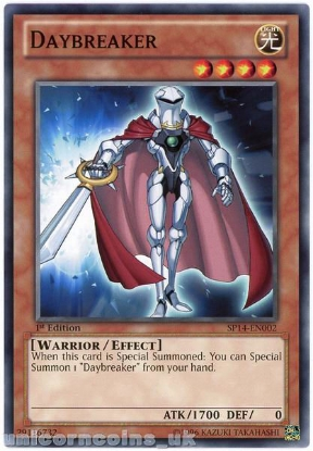 Picture of SP14-EN002 Daybreaker 1st Edition Mint YuGiOh Card