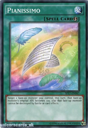 Picture of SP17-EN047 Pianissimo 1st Edition Mint YuGiOh Card