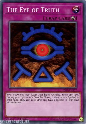 Picture of SS01-ENB17 The Eye of Truth 1st Edition Mint YuGiOh Card