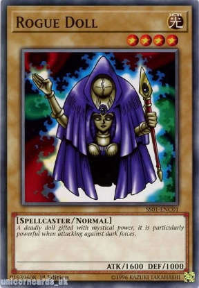 Picture of SS01-ENC01 Rogue Doll 1st Edition Mint YuGiOh Card