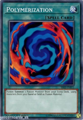 Picture of SS02-ENB11 Polymerization 1st Edition Mint YuGiOh Card
