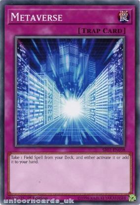 Picture of SR07-EN038 Metaverse 1st Edition Mint YuGiOh Card