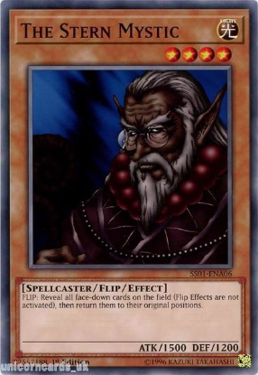 Picture of SS01-ENA06 The Stern Mystic 1st Edition Mint YuGiOh Card