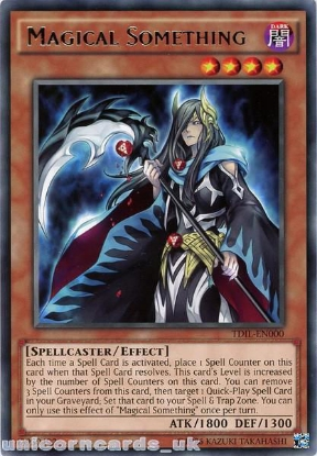 Picture of TDIL-EN000 Magical Something Rare UNL Edition Mint YuGiOh Card