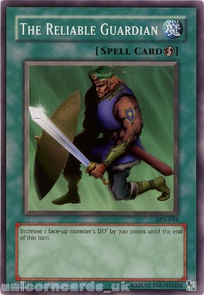 Picture of SYE-034 The Reliable Guardian Common UNL Edition Vintage Mint YuGiOh Card