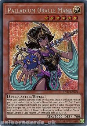 Picture of TN19-EN004 Palladium Oracle Mana Prismatic Secret Rare Limited Edition Mint YuGiOh Card