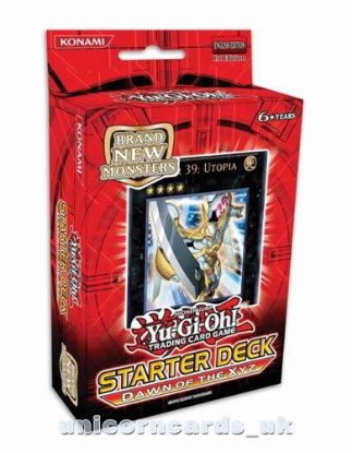 Picture of YuGiOh! Starter Deck: Dawn of the Xyz 1st Edition - Sealed Cards Only, No Box!