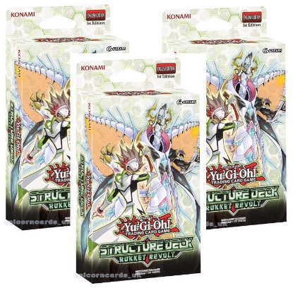 Picture of YuGiOh! Structure Deck: Rokket Revolt x 3 Decks :: Brand New And Sealed Boxes! ::